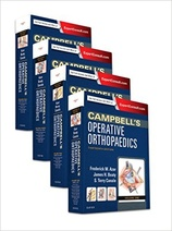 Campbell's Operative Orthopaedics: 4-Volume Set, 13e