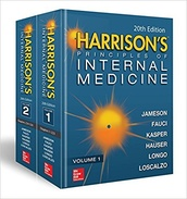 Harrison's Principles of Internal Medicine, 20th Edition (Vol. 1 & Vol. 2)